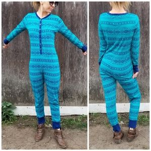 Xhilaration Sleepwear | Fair Isle onesie